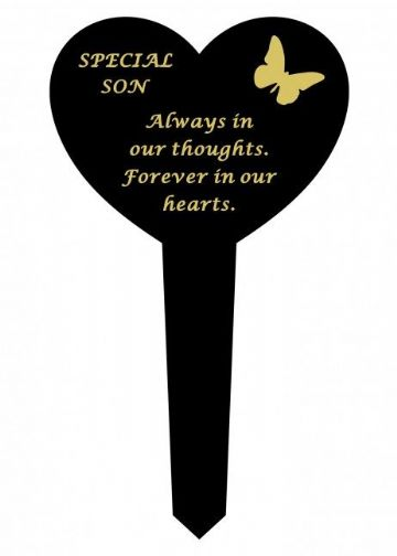Graveside Memorial Butterfly Stake SPECIAL SON DF17917H